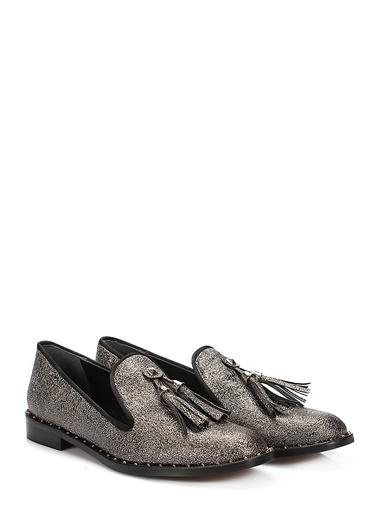 İnci Loafer Ayakkabı Antrasit